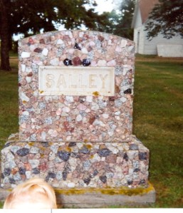 Salley headstone